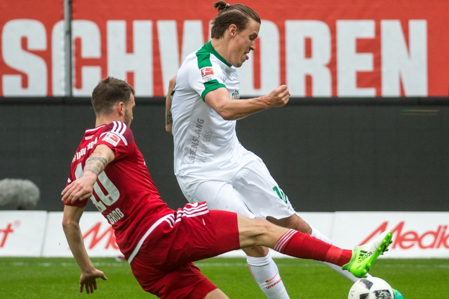 Ulkige Frisur, aber vier Tore: Max Kruse in Ingolstadt (Foto: Marc Mueller / Bongarts / Getty Images)